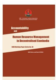 Accountability Human Resource Management in ... - CDRI