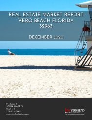 Vero Beach 32963 Real Estate Market Report December 2020