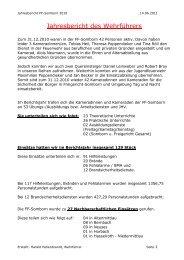 2010 - Freiwillige Feuerwehr Freigericht