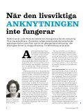 Psykologtidningen - artiklar om anknytning - Page 2