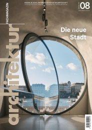 architektur Fachmagazin Ausgabe 8 2020