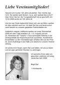 Vereinszeitschrift der Turngesellschaft 1888 eV Somborn unplugged - Page 3