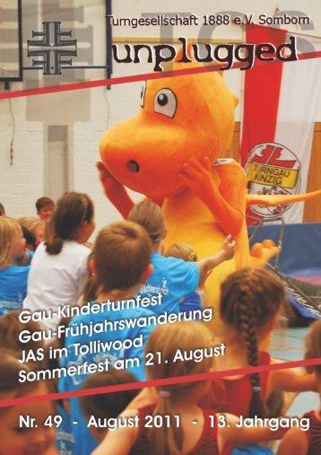 TGS - Sommerfest 21. August - Turngesellschaft Somborn