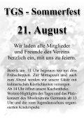 TGS - Sommerfest 21. August - Turngesellschaft Somborn - Page 3