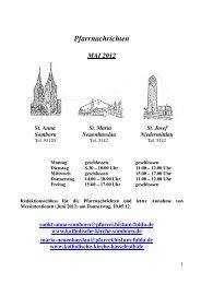 Pfarrnachrichten 05