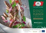 RINDFLEISCH GENUSS - Rindfleisch à la carte