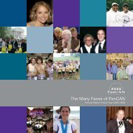 This year, my wife, a five - Pancreatic Cancer Action Network
