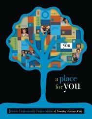 2011 Annual Report - Jewish Community Foundation