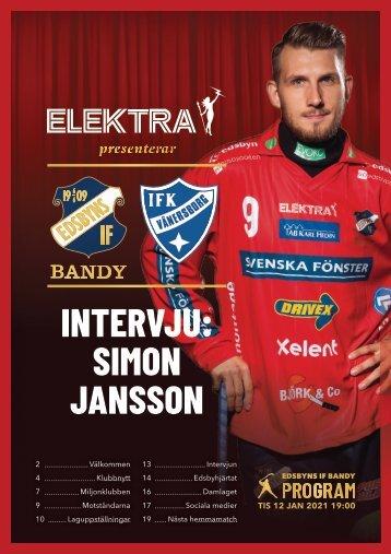 202021 | 2021-01-12 | IFK Vänersborg