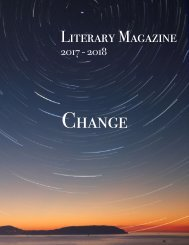 The Literary Magazine 2018