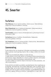 45. Smerter - Helsedirektoratet