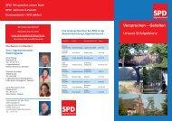 Versprochen - gehalten - SPD Marten-Oespel