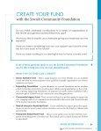 Create a Jewish Legacy - Jewish Community Foundation - Page 5