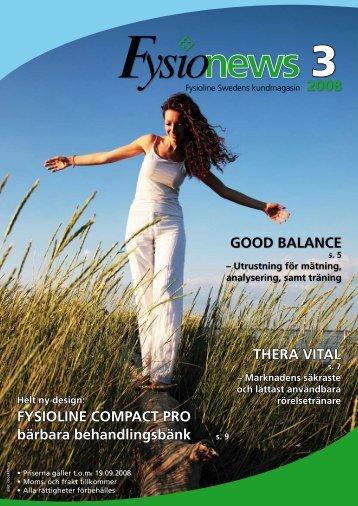 2008 THERA VITAL GOOD BALANCE FYSIOLINE COMPACT PRO ...
