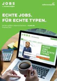 jobs by sächsische.de Preisliste 2021