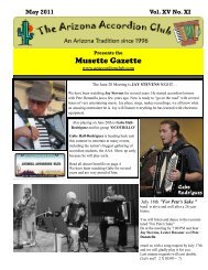 May 2011 - Arizona Accordion Club