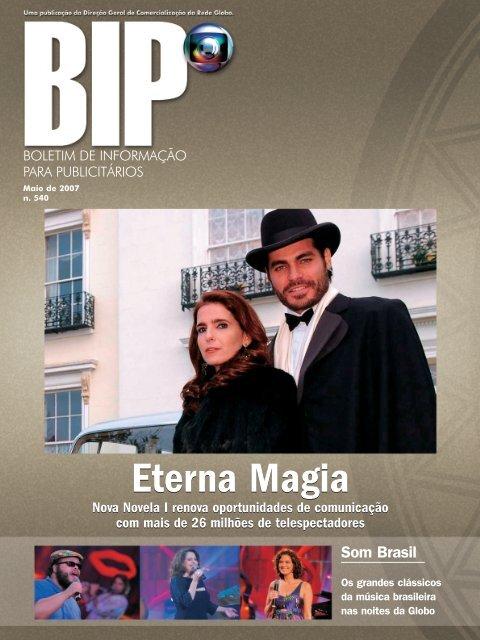 Eterna Magia - Comercial Rede Globo