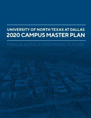 UNT Dallas 2020 Master Plan