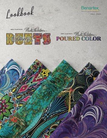 Duets & Poured Color by Paula Nadelstern Lookbook