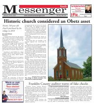 South Messenger - January 10th, 2021