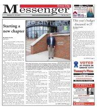 Grove City Messenger - January 10th, 2021