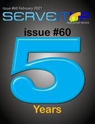 Serveitup Tennis Magazine #60