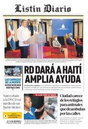 Listín Diario 01-13-2021
