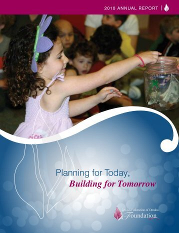 Annual Report - the Jewish Federation of Omaha Foundation ...