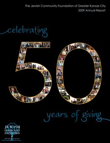 2009 Annual Report - Jewish Community Foundation