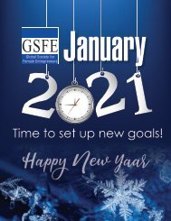 GSFE Newsletter-January 2021