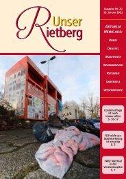 Unser Rietberg Ausgabe 20 vom 13. Januar 2021