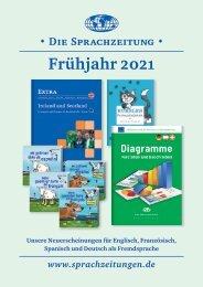 Die Sprachzeitung - Vorschau Frühjahr 2021