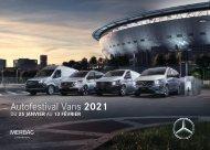 Brochure Vans Pro - Merbag Autofestival 2021