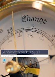 Økonomisk overblikk 1/2011