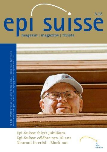 magazin | magazine | rivista Epi-Suisse feiert Jubiläum Epi ... - ParEpi