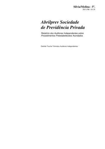 Abrilprev Sociedade de Previdência Privada