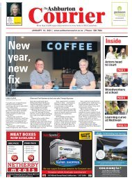 Ashburton Courier: January 14, 2021