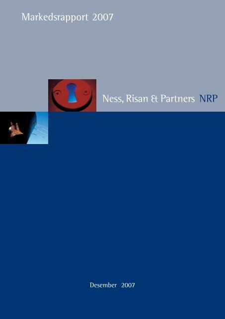 Markedsrapport – Desember 2007 - NRP AS