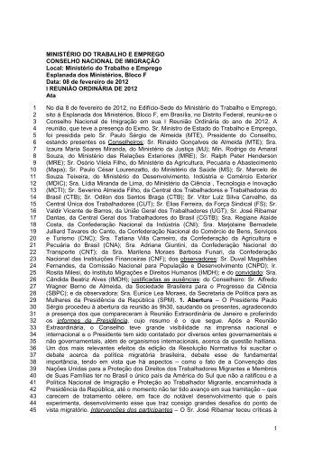 I Reunião Ordinária - Marca do Governo Federal para download ...