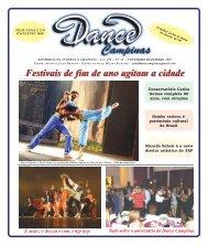 Ed. 13 Campinas - Nov/2007 - Agenda da Dança de Salão Brasileira