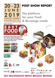 POSTSHOW REPORT EASTFOOD 2019 LR