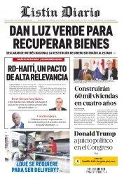 Listín Diario 01-14-2020