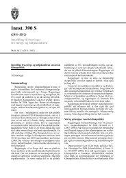 Innst. 390 S - Stortinget