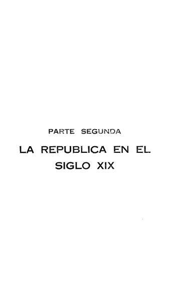 LA REPUBLICA EN EL SIGLO XIX