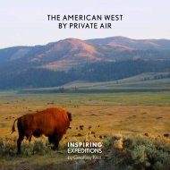 The American West Inspiring Expeditions by Geoffrey Kent