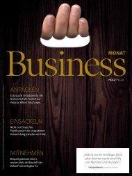 BusinessMonat Holz 2019