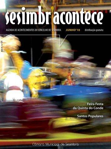 Feira Festa da Quinta do Conde Santos Populares - Sesimbra ...