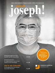 mensch joseph!   Magazin 2-2020