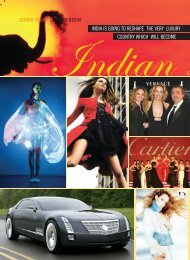COVER STORY LUXURY BOOM INDIA IS GOING ... - Ashoksom.com