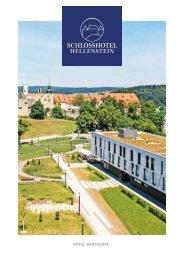 Schlosshotel Heidenheim DIN A 4 Broschüre